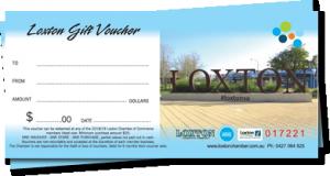 Loxton Gift Vouchers